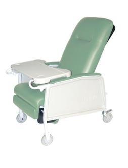 Drive Medical 3 Position Heavy Duty Bariatric Geri Chair Rec