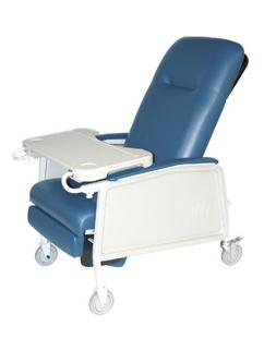 Drive Medical 3 Position Heavy Duty Bariatric Geri Chair Rec