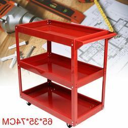 3 Tier Heavy Duty Workshop Garage Mechanic Utility Trolley S