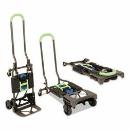 300 lb Capacity Heavy Duty Folding Hand Truck and Dolly Cart