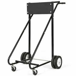 315 LBS Outboard Boat Motor Stand Carrier Cart Dolly Storage