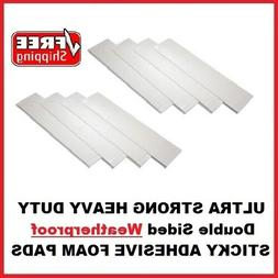 8 Heavy Duty Double Sided Adhesive Sticky Fixing Pads For In