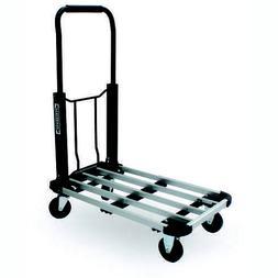 "330 Lb 28"" x 16"" Folding Platform Hand Truck Push Cart Heavy"