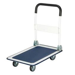 330lbs heavy duty platform cart dolly folding