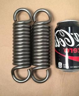 ".331"" Wire Heavy Duty Extension Spring Lot Of 2"