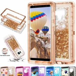 360 liquid glitter bling heavy duty case