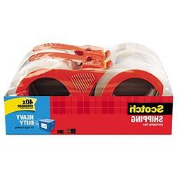 3850 Heavy Duty Packaging Tape, 1.88 Inch x 54.6 yards, Clea