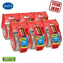 3850 Heavy Duty Packaging Tape in Sure Start Dispenser, 1.88