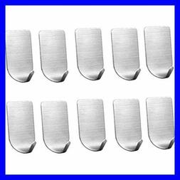 3M Adhesive Hooks Heavy Duty Wall Stainless Steel Waterpro S