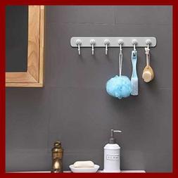 3M Adhesive Wall Hooks No Damage Heavy Duty Plastic 6 Board