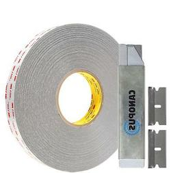 3M Double Sided Tape, RP32, Heavy Duty VHB, Two Mounting, 0.
