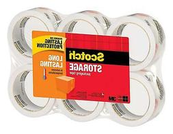 3M Scotch Moving Storage Packing Tape Heavy Duty Shipping Bo