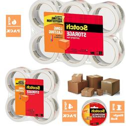 Scotch 3M Storage Packing Tape Heavy Duty Shipping Packaging