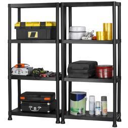 VonHaus 4 Tier Heavy Duty Garage Shelving Storage Rack Units