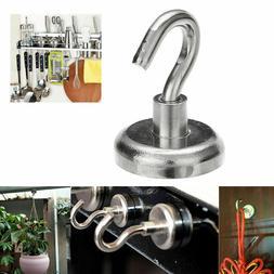 40LBS D32mm Strong Magnetic Hooks Neodymium Hanger Heavy Dut