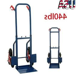 440lb Heavy Duty Stair Climbing Moving Dolly Hand Truck Ware