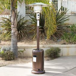 Belleze 48,000BTU Premium Outdoor Patio Heater with Wheel LP