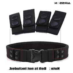 4Pcs Tactical Belt Buckle Portable Military Belt Webbing Str