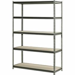 5 Level Adjustable Shelves Garage Steel Metal Shelf Unit Hea
