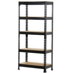 5-Shelf Heavy Duty Storage Shelving Unit Garage Shelving Rac