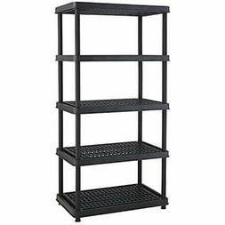 5-Shelf Standing Shelf Units Heavy Duty Utility Freestanding