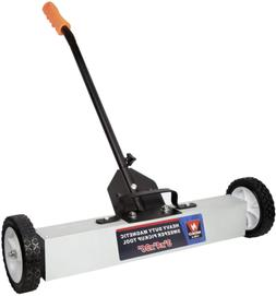 Neiko 53418A 36 Inch Magnetic Pick Up Sweeper with Wheels 30