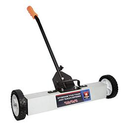 """Neiko 53418A 36"""" Magnetic Pick-Up Sweeper with Wheels 30 lb,"""
