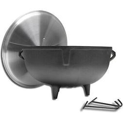 King Kooker 5940 10-Gallon Heavy Duty Cast Iron Jambalaya Po