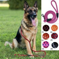 5ft Heavy Duty Nylon Light Weight Dog Leash Rope with Handle