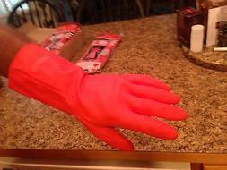6 pair DuBarry super rugged, heavy duty rubber gloves.
