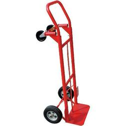 Milwaukee 600 lb. Capacity 2-in-1 Convertible Hand Truck Ste