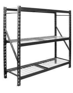 6000LB Large Industrial 3 Shelf Garage Storage Parts Rack St
