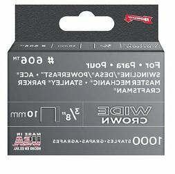 Arrow Fastener 606 Wide Crown Swingline Heavy Duty 3/8-Inch