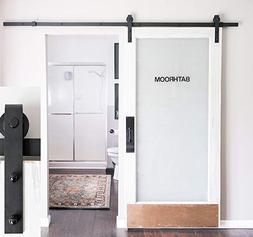INDUSTRIAL BY DESIGN - 6ft 7in Heavy Duty Sliding Barn Door