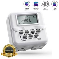 7 Day 24Hour Heavy Duty Digital Electric Programmable Timer