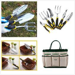 7 Pcs Plant Care Garden Tool Set - Aluminum Alloy Heavy Duty