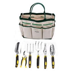 7 Piece high quality Garden Tool Set Durable Heavy Duty Alum