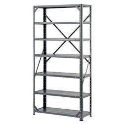 Heavy Duty Metal Rack 7 Shelf Steel Shelving Unit Garage Sto