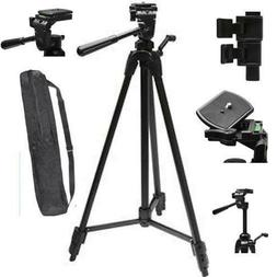 """75"""" PRO HEAVY DUTY LIGHTWEIGHT TRIPOD WITH QUICK RELEASE FOR"""