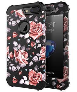 OBBCase 7plus case rose IPhone 7 Plus Case, Three Layer Hybr