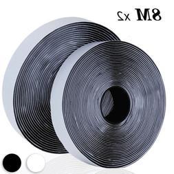 8 Meter Heavy Duty Self Adhesive Tape Hook and Loop Sticky B