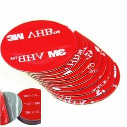 6 pcs Double Sided Adhesive Tape Circle 3 Inch Round 3M Heav