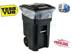 95-96 GALLON Garbage Can Liners 1.5 Mil Clear Heavy Duty Tra
