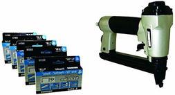 Surebonder Stapler Gun + 6250 Staples Pack Heavy Duty 1/4-In