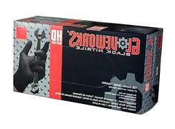 AMMEX - GWBN46100-BX - Nitrile Gloves - Gloveworks - HD, Dis