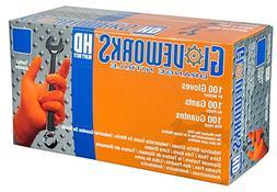 AMMEX - GWON48100-BX - Nitrile Gloves - Gloveworks - Heavy D