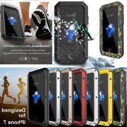 Aluminum Metal Shockproof Heavy Duty Case Cover For Samsung