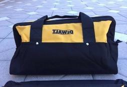 """Dewalt Extra Large 20"""" Inch Heavy Duty Wide Mouth Tool Bag W"""