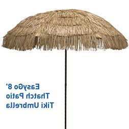 EasyGo - 8' Thatch Patio Tiki Umbrella – Tropical Palapa R