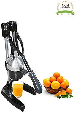 Extra Large Commercial Cast Iron Juice Press Juicer, Heavy D
